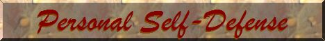 Personal Self Defense Banner